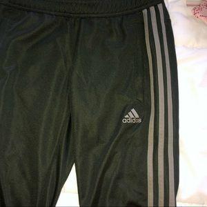 Olive Green Adidas Tiro Pants